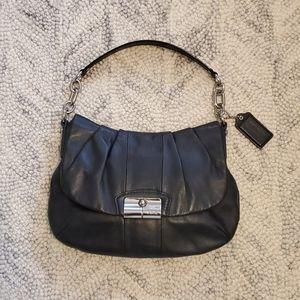 Coach Leather Purse - Black